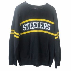 NFL Apparel Pittsburgh Steelers Crew Neck Sweater